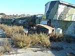 Backview of 9.2-inch BL Mk X gun on Robben Island.jpg