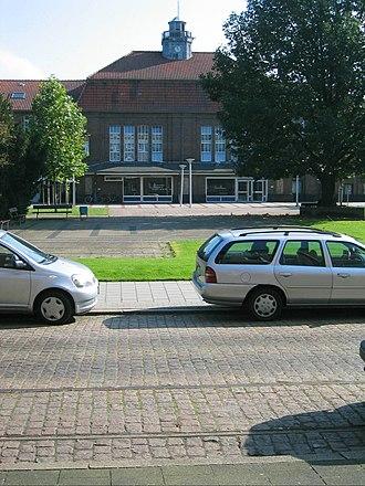 Bremerhaven-Lehe railway station - Image: Bahn Brhv Bf Lehe 1
