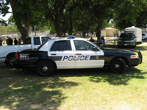 Bakersfield Police Department cruiser