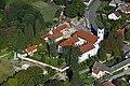 Bakonybél, Szent Mauriciusz Monostor a levegőből.jpg