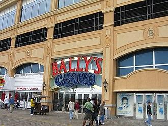 Bally's Atlantic City - The boardwalk entrance to Bally's Casino.