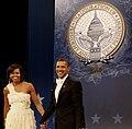 Barack and Michelle Obama, Home States Inaugural Ball.jpg