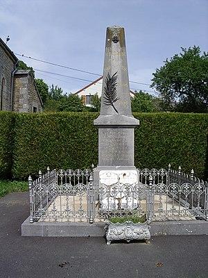 Barbaise - The War Memorial