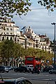 Barcelona - Passeig de Gràcia - View SE towards Casa Milà 'La Pedrera' 1906-10 Antoni Gaudí.jpg