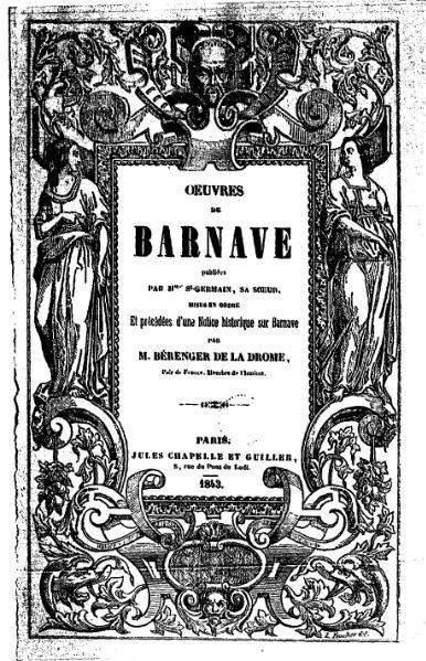 File:Barnave - Œuvres de Barnave, tome 4.djvu