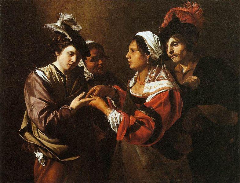 File:Bartolomeo Manfredi - Gypsy Fortune Teller - WGA13926.jpg