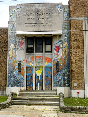 John Bartram High School - Image: Bartram HS Philly