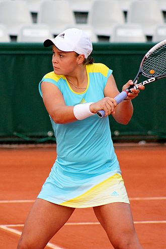 Ashleigh Barty - Barty at the 2013 French Open