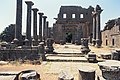Basilica Complex, Qanawat (قنوات), Syria - East part- view through atrium to southern façade - PHBZ024 2016 1494 - Dumbarton Oaks.jpg