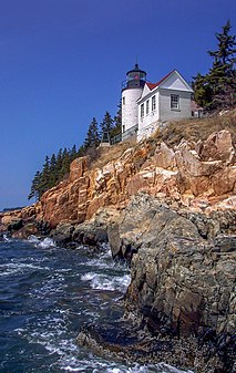 Mount Desert Island island in the United States of America