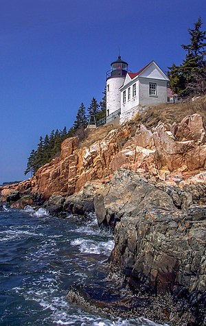 Mount Desert Island - Bass Harbor Head Light