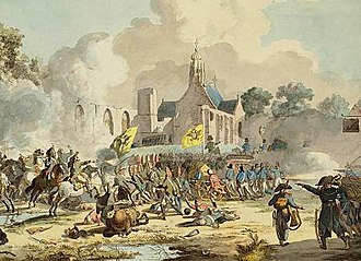Battle of Bergen (1799) - Image: Battle bergen