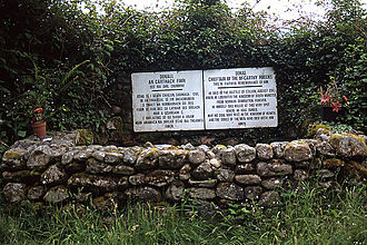 Fínghin Mac Carthaigh - A memorial at the site of the Battle of Callann