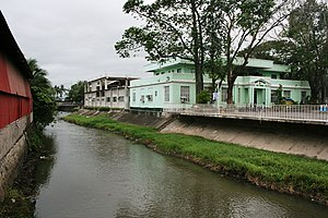 Bay, Laguna - Bay Municipal Hall on the banks of the Bay River