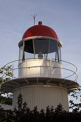 Bay Rock Light - Bay Rock Lighthouse at the Townsville Maritime Museum