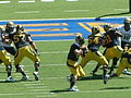 Bears on offense at Colorado at Cal 2010-09-11 17.JPG