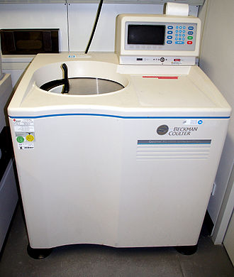 Svedberg - A laboratory ultracentrifuge.