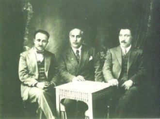 Celadet Bedir Khan - Bedir Khan brothers: Kamuran (1895– 1978), Sureyya (1883–1938), and Celadet