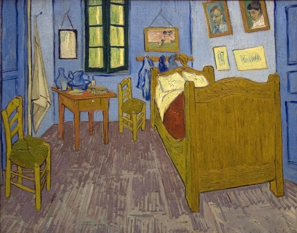 file:bedroom of van gogh in arles - wikimedia commons