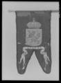 Begravningsbanér, Göta vapen, förd i Karl X Gustavs begravningståg 1660 - Livrustkammaren - 44658.tif