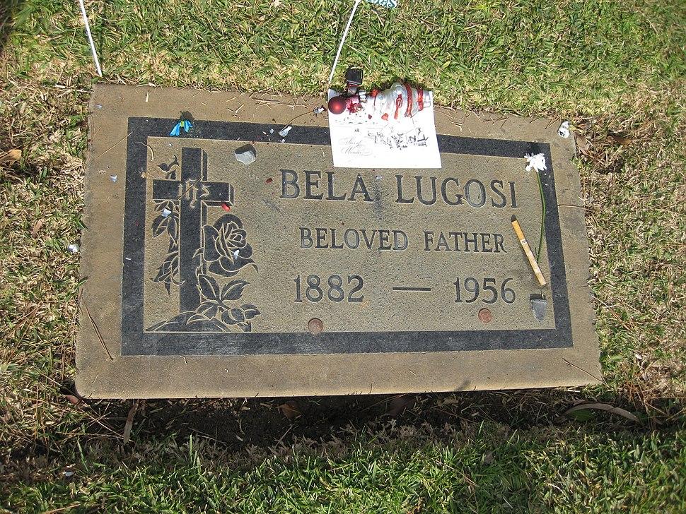 Bela Lugosi's grave