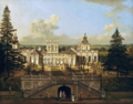 Bellotto Wilanów Palace as seen from the garden.png