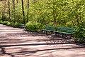 Benches, Volkspark Jungfernheide, Berlin (20150503-DSC04922).JPG