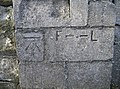 Benchmark and curious other marks - geograph.org.uk - 2352522.jpg