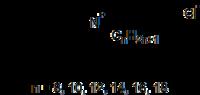 Struktur von Benzalkoniumchlorid