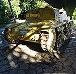 Bergame Italian self propelled gun WW II.JPG