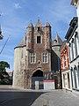 Bergen op Zoom - Back of the Gevangenpoort and house next to it.jpg
