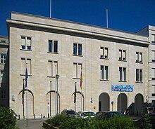 Berlin, Mitte, Wilhelmstrasse, Haupteingang Bundessozialministerium.jpg