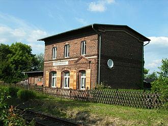 Blankenfelde - Image: Berlin Blankenfelde Bahnhof
