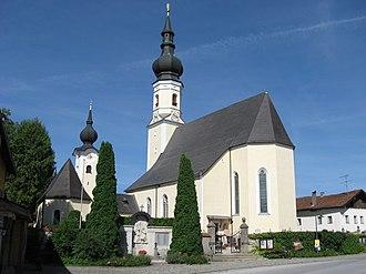 Berndorf bei Salzburg - Church of the Assumption of the Virgin Mary