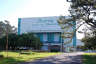 National Register of Historic Places listings in Forrest County, Mississippi - Image: Beverly Drive In Theatre