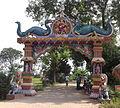 Bhairabi Temple Main Gate,Purunakatak.JPG