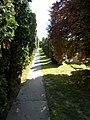 Bia Catholic Cemetery Calvary, Station road - Biatorbágy, Hungary.jpg