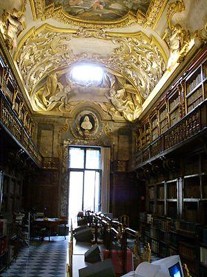 Biblioteca Riccardiana - Reading Room at the Biblioteca Riccardiana