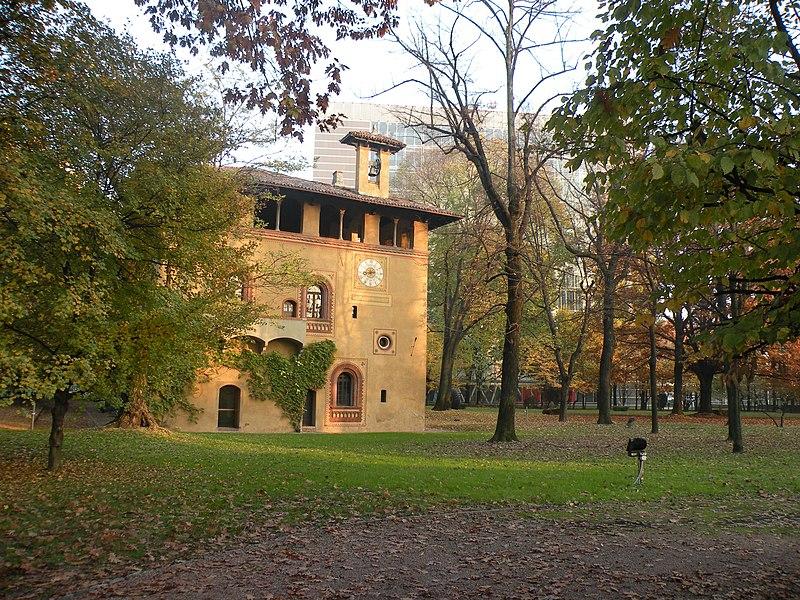 La Bicocca degli Arcimboldi, che dà il nome al quartiere e all'Università di Milano Bicocca