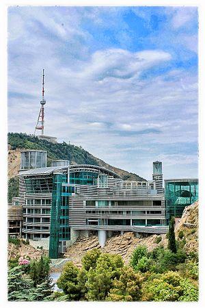 Bidzina Ivanishvili - Ivanishvili's residence in Tbilisi, designed by Shin Takamatsu.