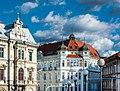 Bielsko-Biała kamienice przy skrzyzowaniu przy Zamku.jpg
