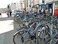 Bikes in Broad Street - geograph.org.uk - 2399142.jpg