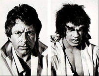 Bill Bixby Lou Ferrigno Incredible Hulk 1977.jpg