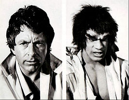 Bill Bixby en Lou Ferrigno in The Incredible Hulk