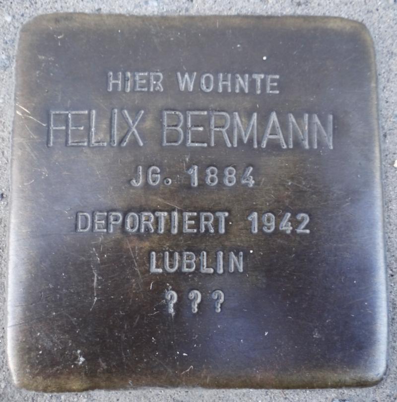 Bingen Stolperstein Felix Bermann.png