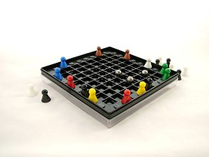Black Box (game) - Black Box gameboard and pieces