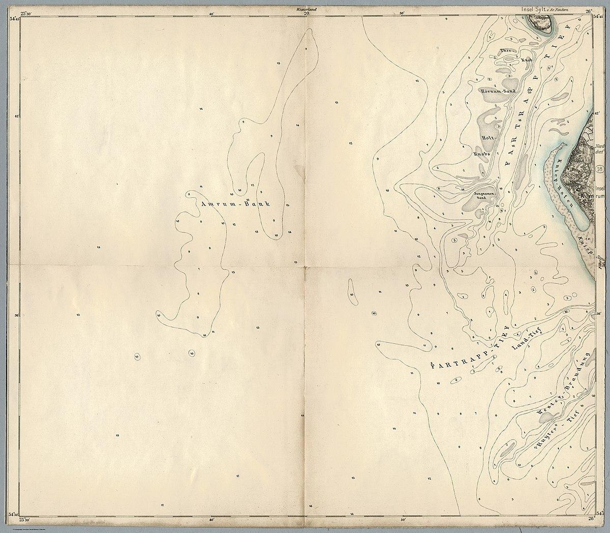 File Blatt 35 Amrum Karte Des Deutschen Reiches 100000 Jpg