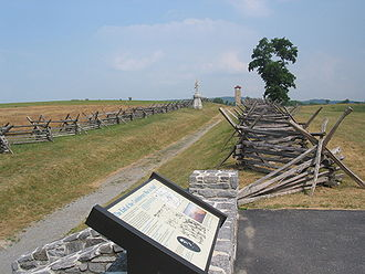Battle of Antietam - The Bloody Lane in 2005