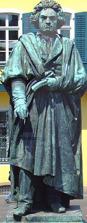 Beethoven-Denkmal in Bonn (Quelle: Wikimedia)