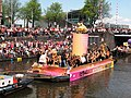 Boat 34 Lovetravels, Canal Parade Amsterdam 2017 foto 1.JPG